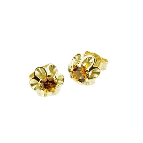 OSTSEE-SCHMUCK Ohrstecker - Pia Gold 333/000 Citrin OSTSEE-SCHMUCK gold  001