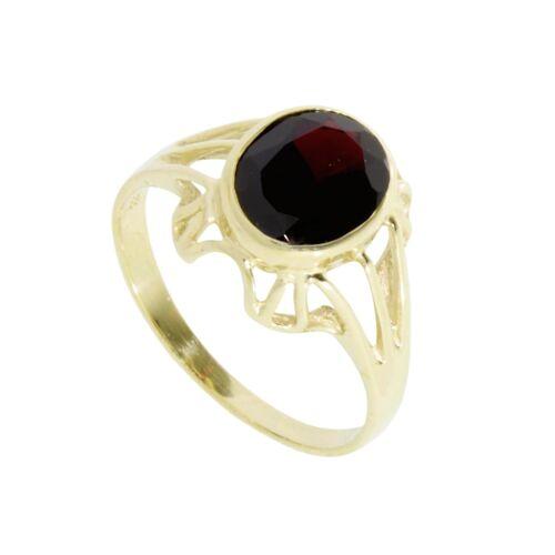 OSTSEE-SCHMUCK Ring - Maline Gold 333/000 Granat OSTSEE-SCHMUCK gold  54,56,58,60,62,64