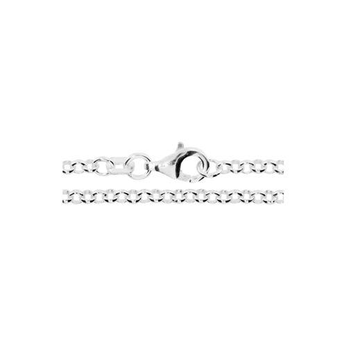 OSTSEE-SCHMUCK Kette - Erbs 2,5 mm Silber 925/000 , OSTSEE-SCHMUCK silber  001