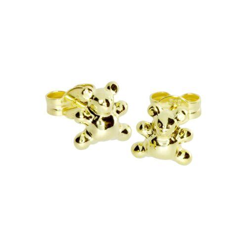 OSTSEE-SCHMUCK Ohrstecker - Teddy Gold 333/000 , OSTSEE-SCHMUCK gold  001