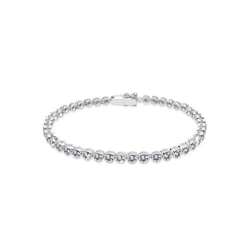 Elli Armband Tennis-Armband Kristalle 925 Silber Elli Silber  001