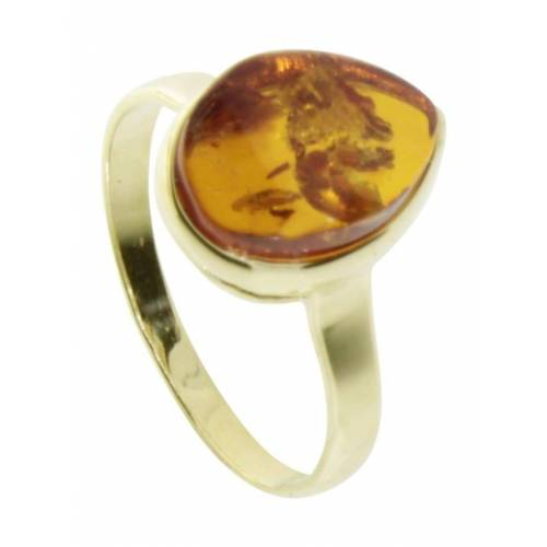 OSTSEE-SCHMUCK Ring - Ulma Gold 333/000 Bernstein OSTSEE-SCHMUCK gold  54,56,58,60,62,64