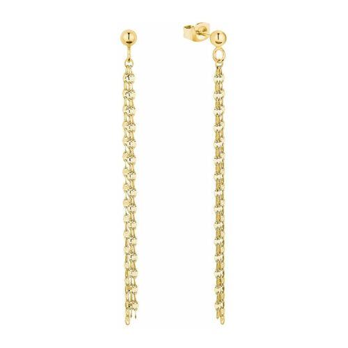 amor Ohrhänger für Damen, Gold 375 amor Gold  001