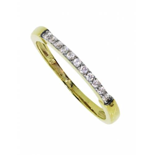 OSTSEE-SCHMUCK Ring - Helle Gold 333/000 Zirkonia OSTSEE-SCHMUCK gold  52,54,56,58,60,62,64