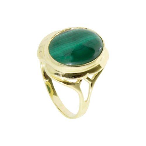 OSTSEE-SCHMUCK Ring - Dunia Gold 333/000 Malachit OSTSEE-SCHMUCK gold  58,60,62,64