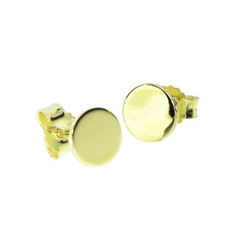 OSTSEE-SCHMUCK Ohrstecker - Liva Gold 333/000 , OSTSEE-SCHMUCK gold  001