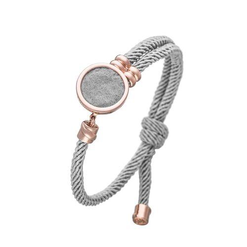 Lunavit Armband Aroma Armband Fionda, Grau/Rosé Lunavit grau/rosé  001 001