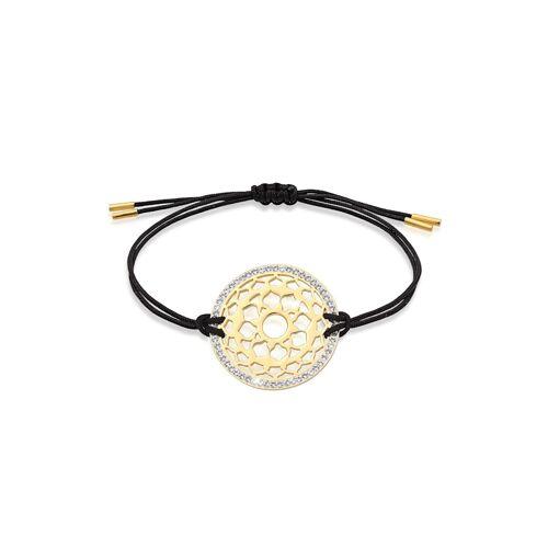 Nenalina Armband Sahasrara Chakra Kristalle 925 Silber Nenalina Gold  001