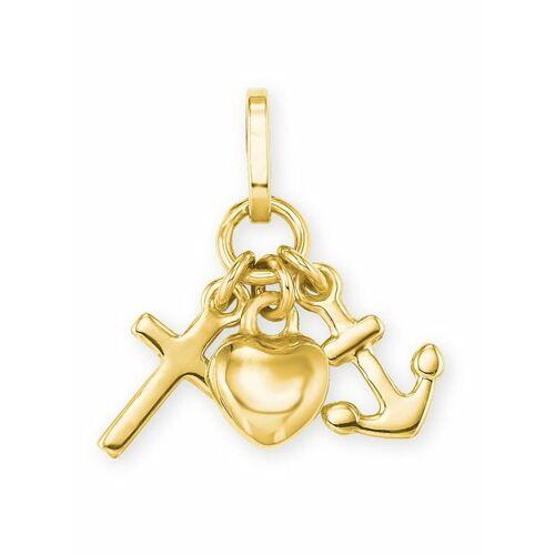 amor Anhänger für Damen, Gold 585, GLH amor Gold  001