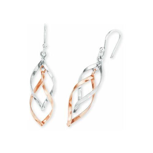 amor Ohrring für Damen aus Silber 925 bicolor amor Bicolor  001 001