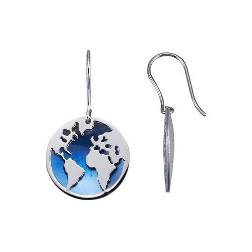 KLiNGEL Ohrringe mit Emaillen KLiNGEL Blau