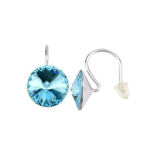KLiNGEL 2tlg. Ohrschmuck-Set mit Kristallen KLiNGEL Blau/Weiß
