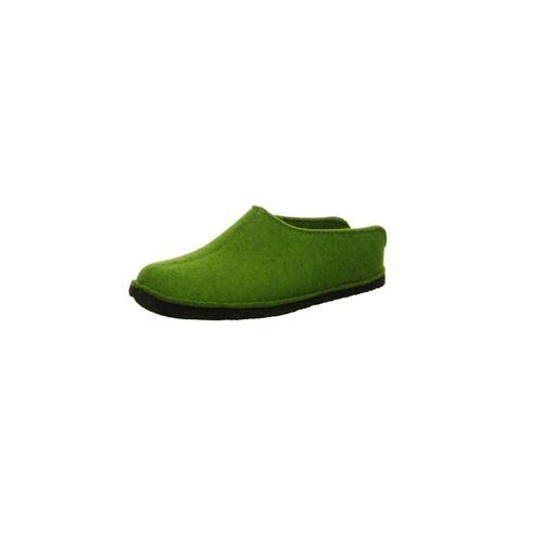 Haflinger Hausschuhe Haflinger grün  42,44,45