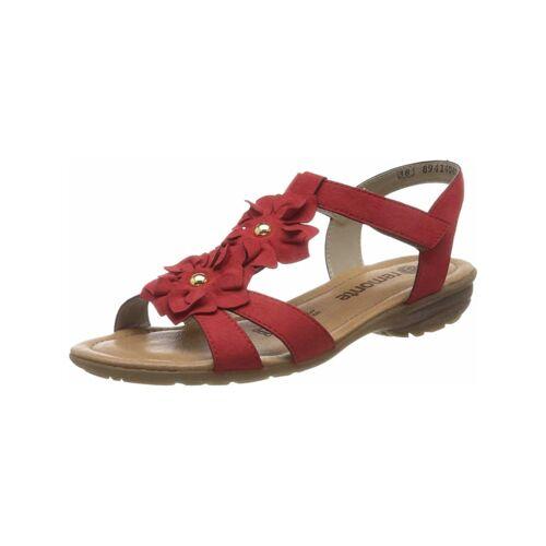 Remonte Sandalen/Sandaletten Remonte rot  36,37,38,39,40,41,42,44