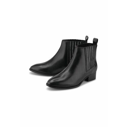 COX Chelsea-Boots Chelsea-Stiefelette COX schwarz  36,37,38,39,40,41,42