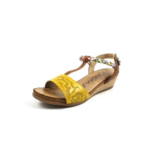 Remonte Sandalen/Sandaletten Remonte gelb  35