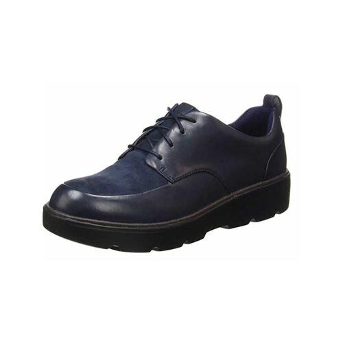 Clarks Schnürschuhe Clarks dunkel-blau  37.5,40