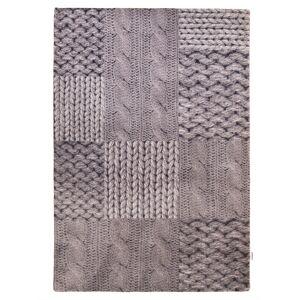 Tom Tailor Webteppich Patch Knit Tom Tailor Grau  001,002,003