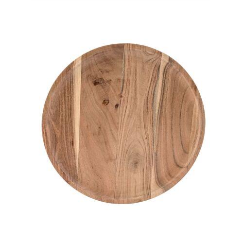 IMPRESSIONEN living Holzteller IMPRESSIONEN living naturfarben