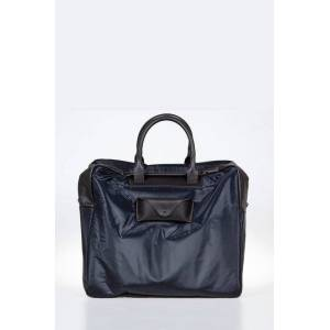 Maison Margiela Fabric Travel Bag with Leather details Größe Unica