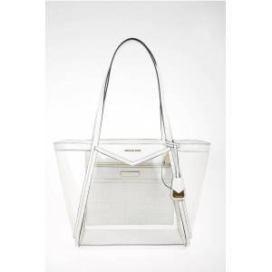 Michael Kors PVC WHITNEY Tote Bag with Leather Trimmings Größe Unica