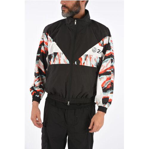 24 Karats Tokyo printed full zip outerwear jacket Größe M