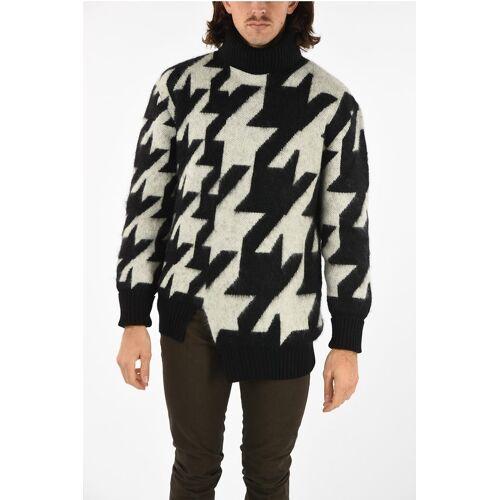 Alexander McQueen mohair turtle-neck sweater Größe L