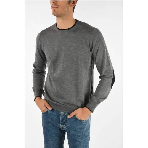 Fay virgin wool crew-neck sweater Größe 50