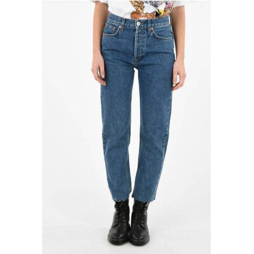 Re/Done High Waist Stovepipe Jeans Größe 30