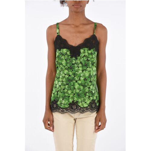 Dolce & Gabbana Lace Trimming Tank Top Größe Iv