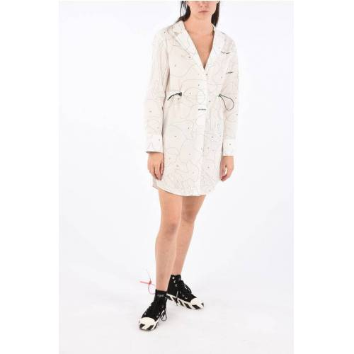 Off-White Puzzle Blazer Dress with Coulisse Größe 42