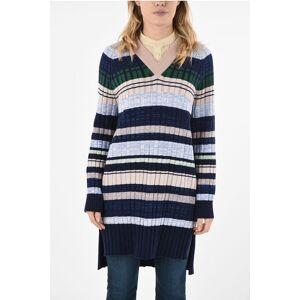 Sportmax Striped Oversized Sweater Größe S