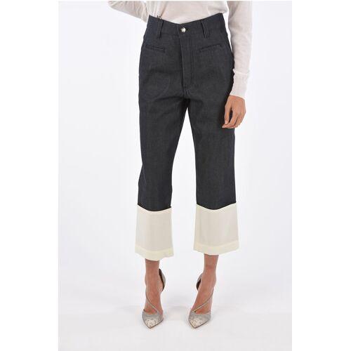 Loewe Cuffed hem cropped jeans Größe 38