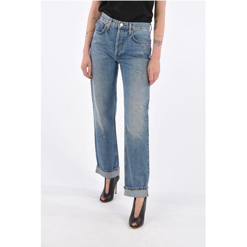 Re/Done cuffed hem high-rise waist jeans Größe 26