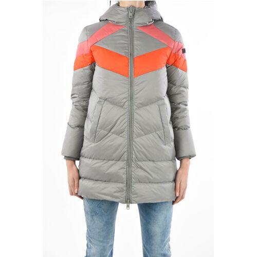 Diesel Full Zip W-PATLONG-NEW Down Jacket with hood Größe S