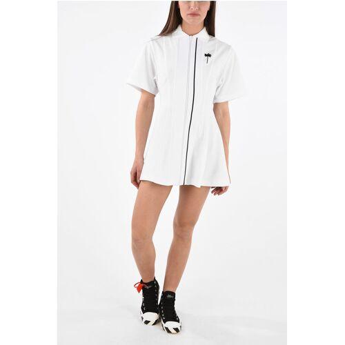 Palm Short Sleeve Tennis Track Dress Größe Xs