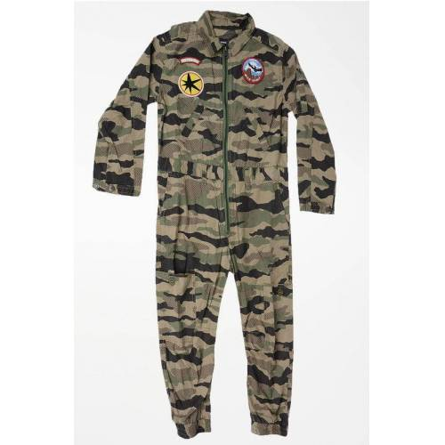 Diesel Camouflage Jumpsuit with Patches Größe 16 Y