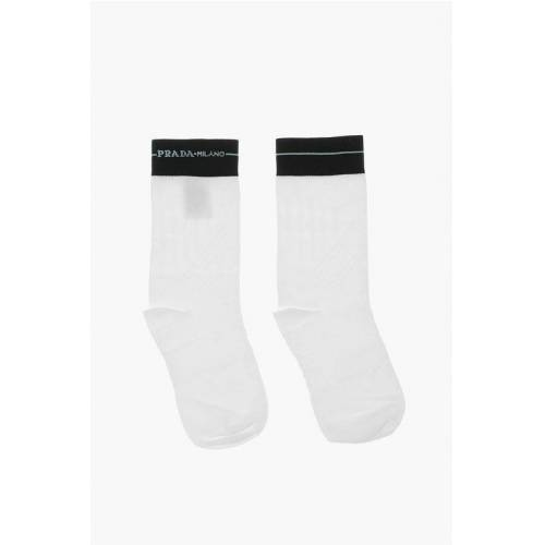 Prada Bicolored Socks Größe Ii