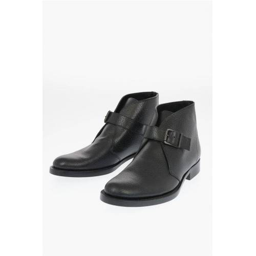 Marni leather Monk strap ankle boots Größe 44