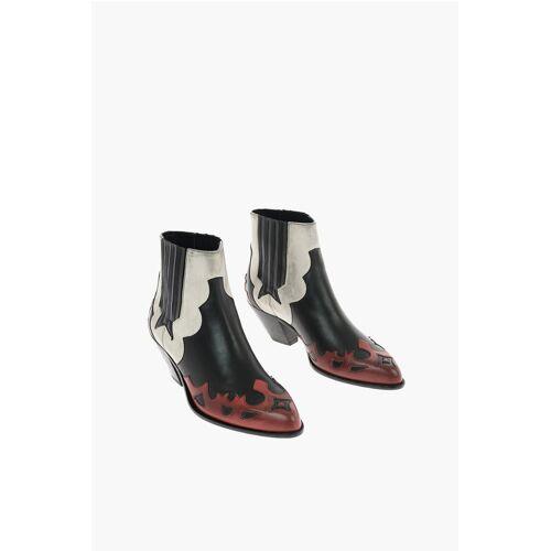 Golden Goose 7cm leather Western boots Größe 36