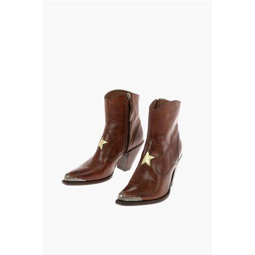 Golden Goose 9cm leather NORA Western boots Größe 37