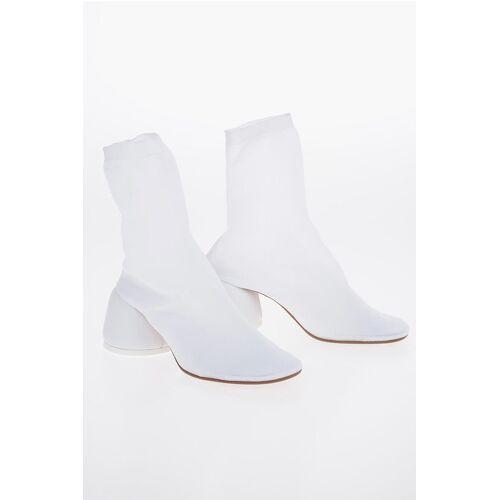 Maison Margiela MM6 7cm Canvas Socks Ankle Boots Größe 39