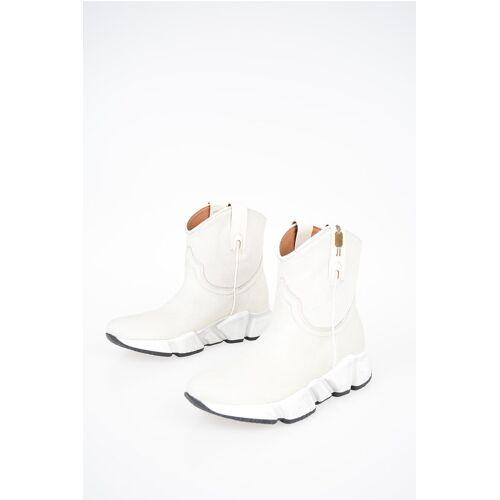 Texas Robot Pony Skin MESSICO Ankle Boots Größe 35