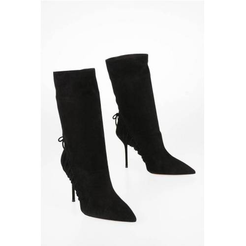 Aquazzura 10cm Suede leather ALL MINE Ankle Boots Größe 38