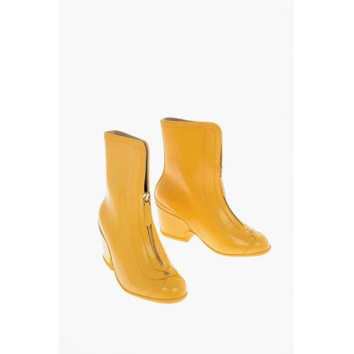 Gucci 7cm Rubber Boots with Zip Größe 39