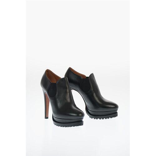 Alaia Leather Ankle Boots with Platform 13cm Größe 39