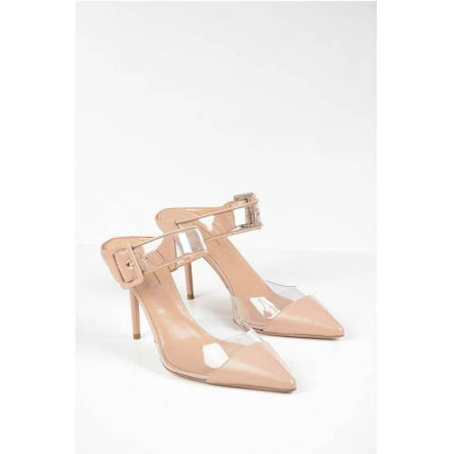 Aquazzura Leather OPTIC Mules 9 cm Größe 38,5