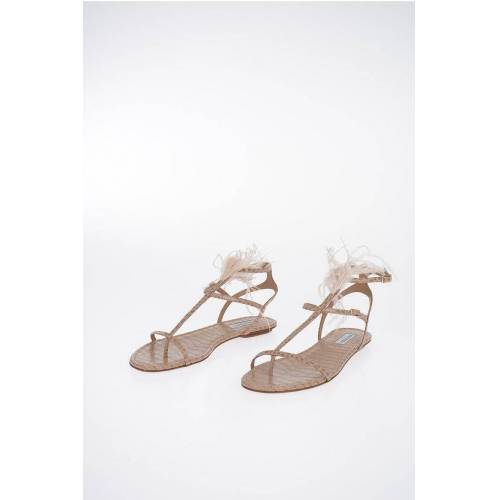 Aquazzura Leather PONZA Sandal Größe 37,5