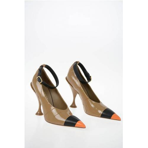 Burberry Leather Pumps with Ankle Strap 11 cm Größe 38