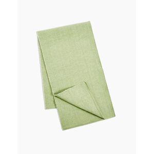 Marks & Spencer Gerippter Tischläufer aus Baumwolle - Grün